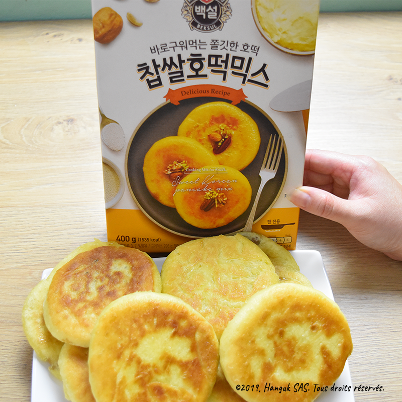 [K-produit] Hotteok, Sweet Pancake Mix – Beksul